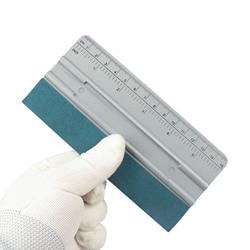 EHDIS Автомобильная виниловая пленка, обертка из замшевой ткани, скребок из углеродного волокна, скребок для автомобиля, тонировка, установка, инструмент для чистки, аксессуары