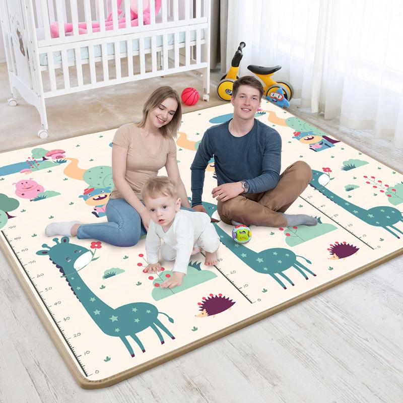 tapete infantil a prova dagua xpe piso emborrachado macio e dobravel para criancas