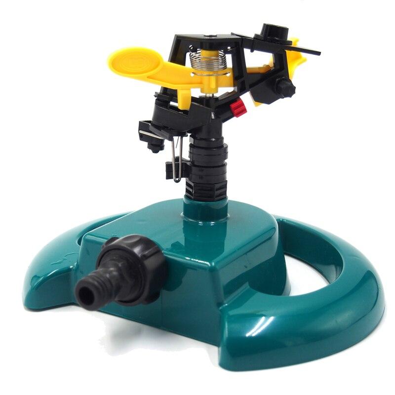 360 ângulo de rotação jardim sprinkler rega automática grama gramado jardim ferramentas irrigação sistema água sprinkler chuveiro do jardim