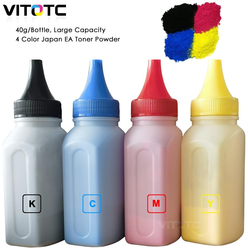 Vitotc اليابان EA لون مسحوق تلوين البشرة متوافق مع ديل 2660 C2660 C2660dn C2665dnf طابعات ليزر الملء