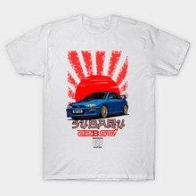 T-Shirt homme Impreza 22B Wrx Sti R.I.P. Evo (bleu) t-shirt femme t-shirt