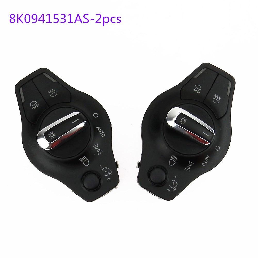 SCJYRXS Auto faro Control de faros de luz antiniebla de Control para A4 A5 Q5 8K0941531AS 8K0 941 531AL 8K0 941 de 531 como 8K0 941 531AS