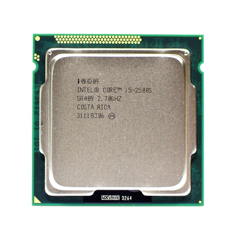 Intel core i5 2500s 2.7ghz quad-core 6m 5gt/s processador sr009 soquete 1155 cpu