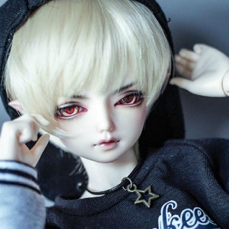 Neue Ankunft 1/4 BJD Puppe BJD/SD Umfassen Augen Junge BORY Puppe Für Kinder Geburtstag Geschenk