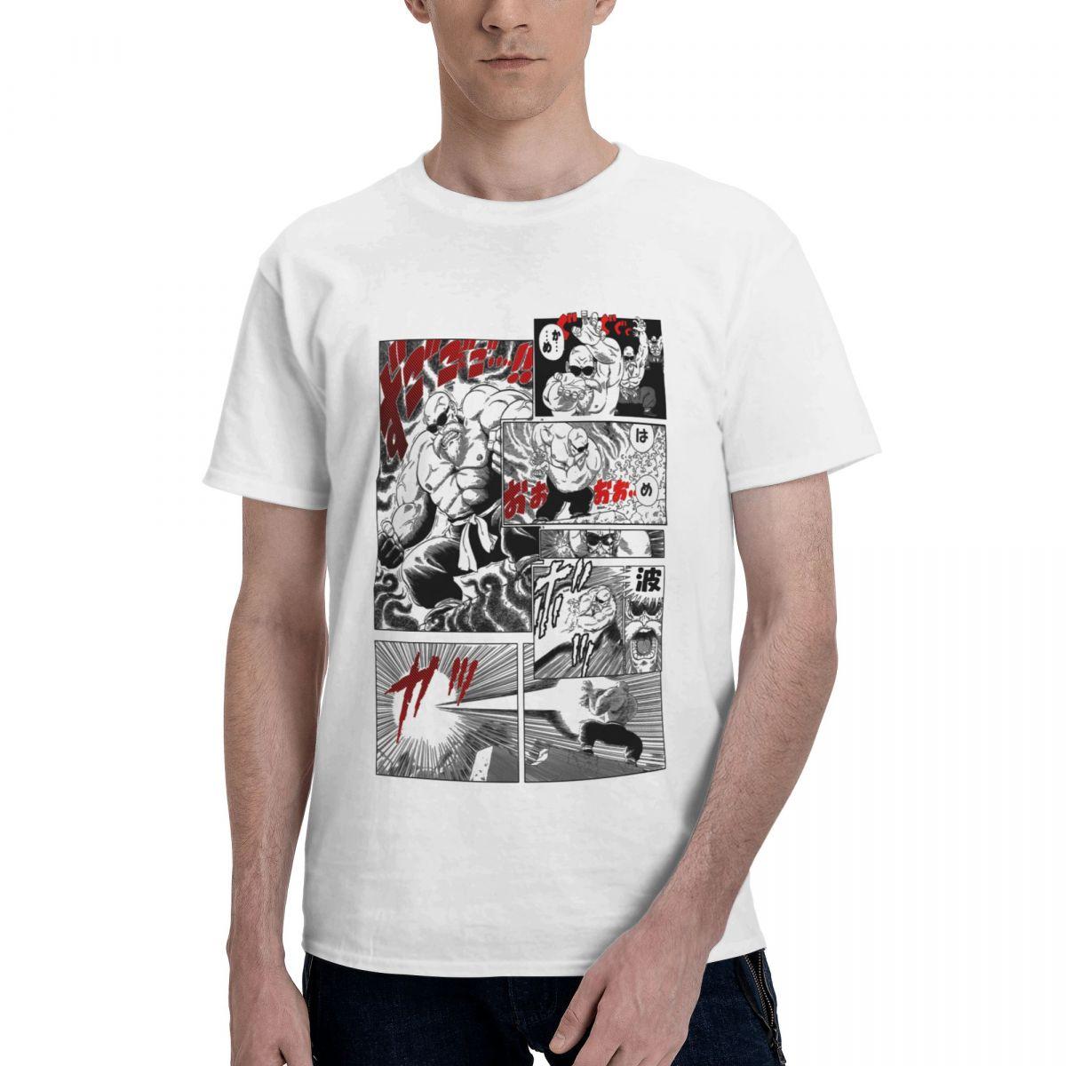 كام Sennin بانداي لعبة دراغون بول الرجال تي شيرت أنيمي خمر تيز قصيرة الأكمام مستديرة الرقبة تي شيرت 100% القطن ملابس مطبوعة