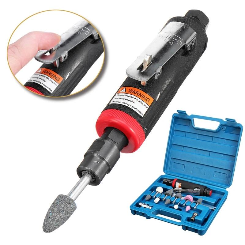 1 Set 1 4 Pneumatic Die Grinder Tire Repair Tools Kit Polishing Carving Air Compressor Sander Grinding Tire Repair Machine Pneumatic Tools Aliexpress