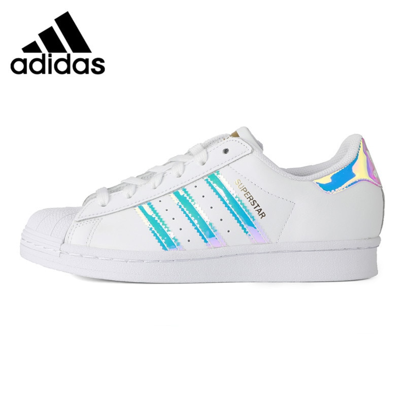 Original New Arrival Adidas Originals SUPERSTAR W Women's Skateboarding Shoes Sneakers