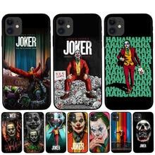 RUIXKJ Coque iPhone XR X XS X 11 Pro Max caso Joker 2019 Funda iPhone 8 7 6 6S Plus 5S cubierta para iPhone XR casos