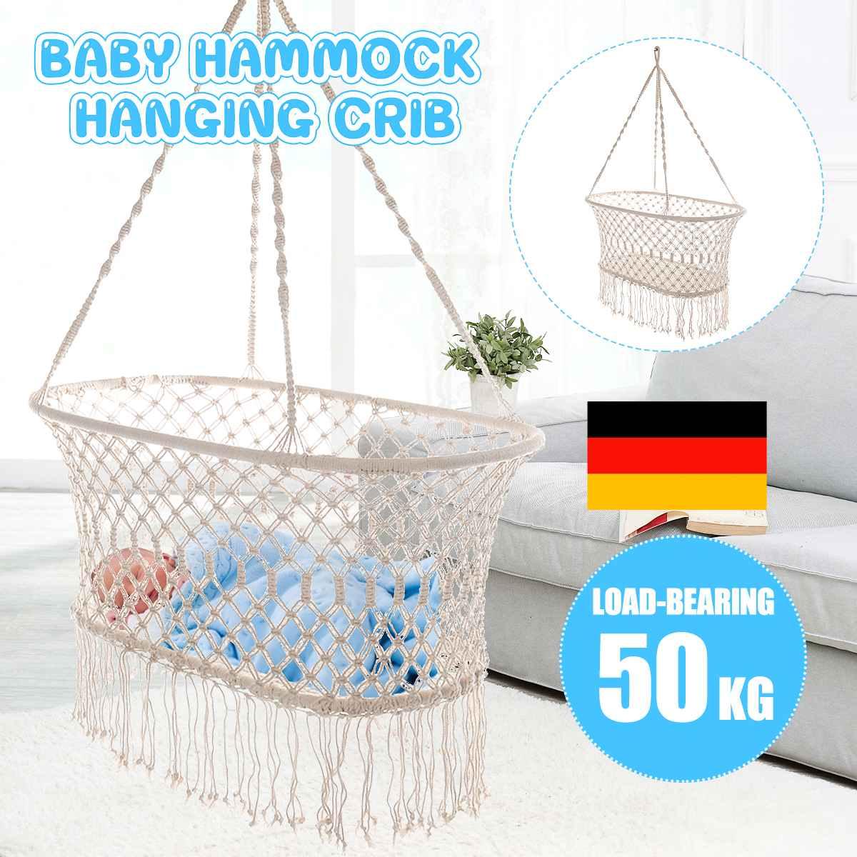 Baby Hammock Cotton Rope Hammock Chair Swing Children Hammock Rocking Sleep Bed Indoor Outdoor Hanging Sest Child Swing Seat