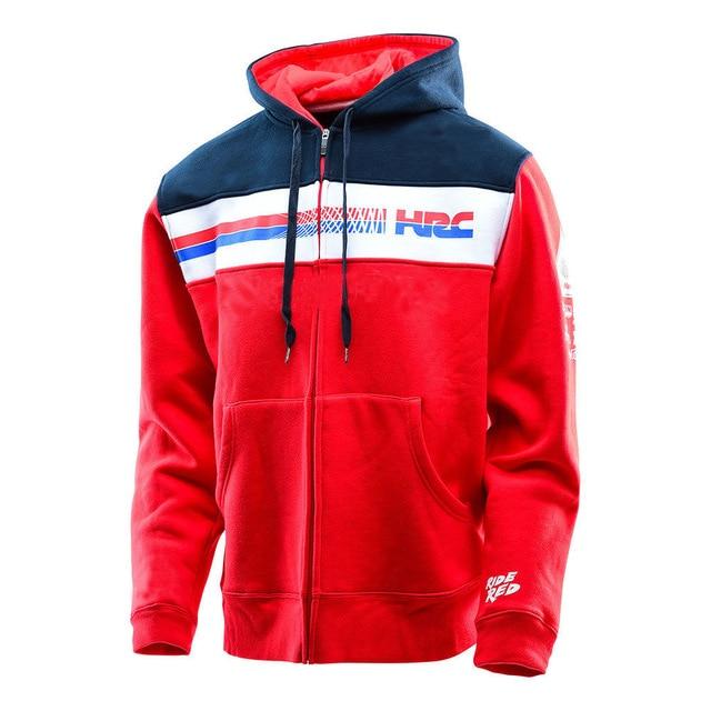 Hot Selling Motorcycle Casual Sweatshirt For Honda Motocross Mountain Bicycle Hoodie Mens Sweater