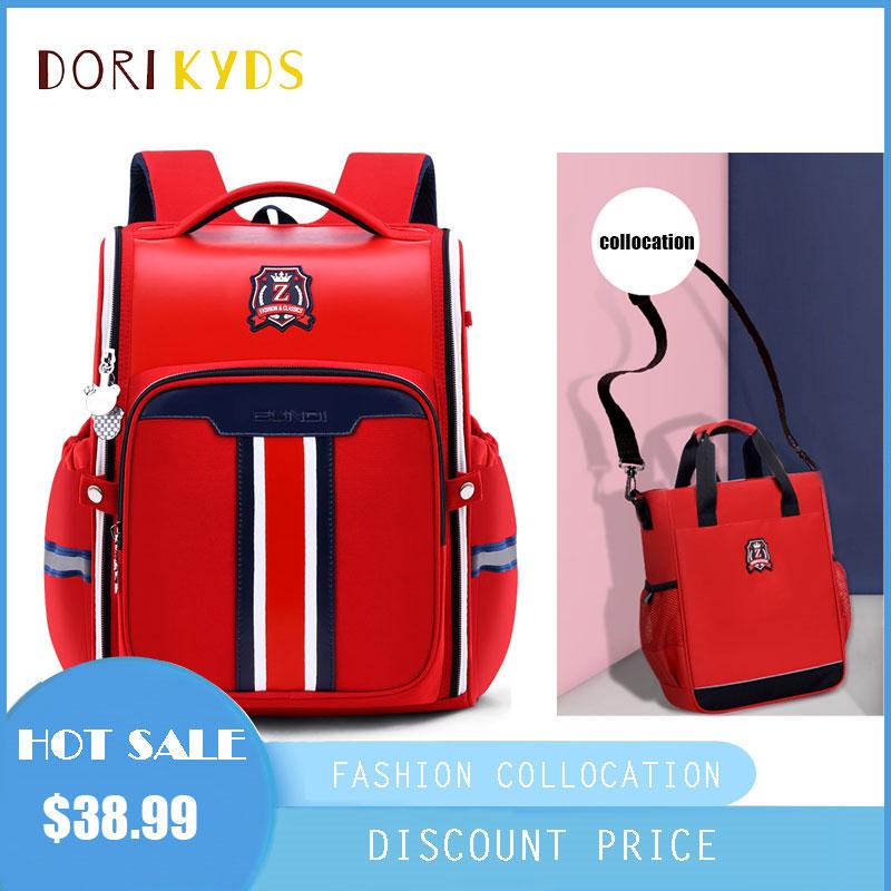 DORIKYDS 2020 школьный рюкзак детские школьные сумки милые все открытые Детские Водонепроницаемые кожаные большие вместительные милые школьные ...