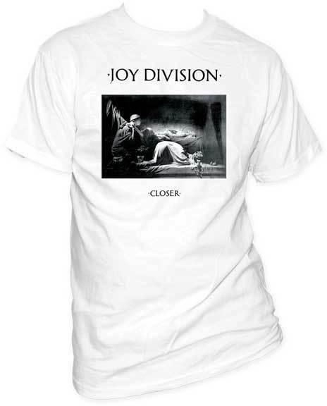 Joy Division-más cerca (Wei?) Camiseta S-2XL Neu Offizielle impacto Werbung