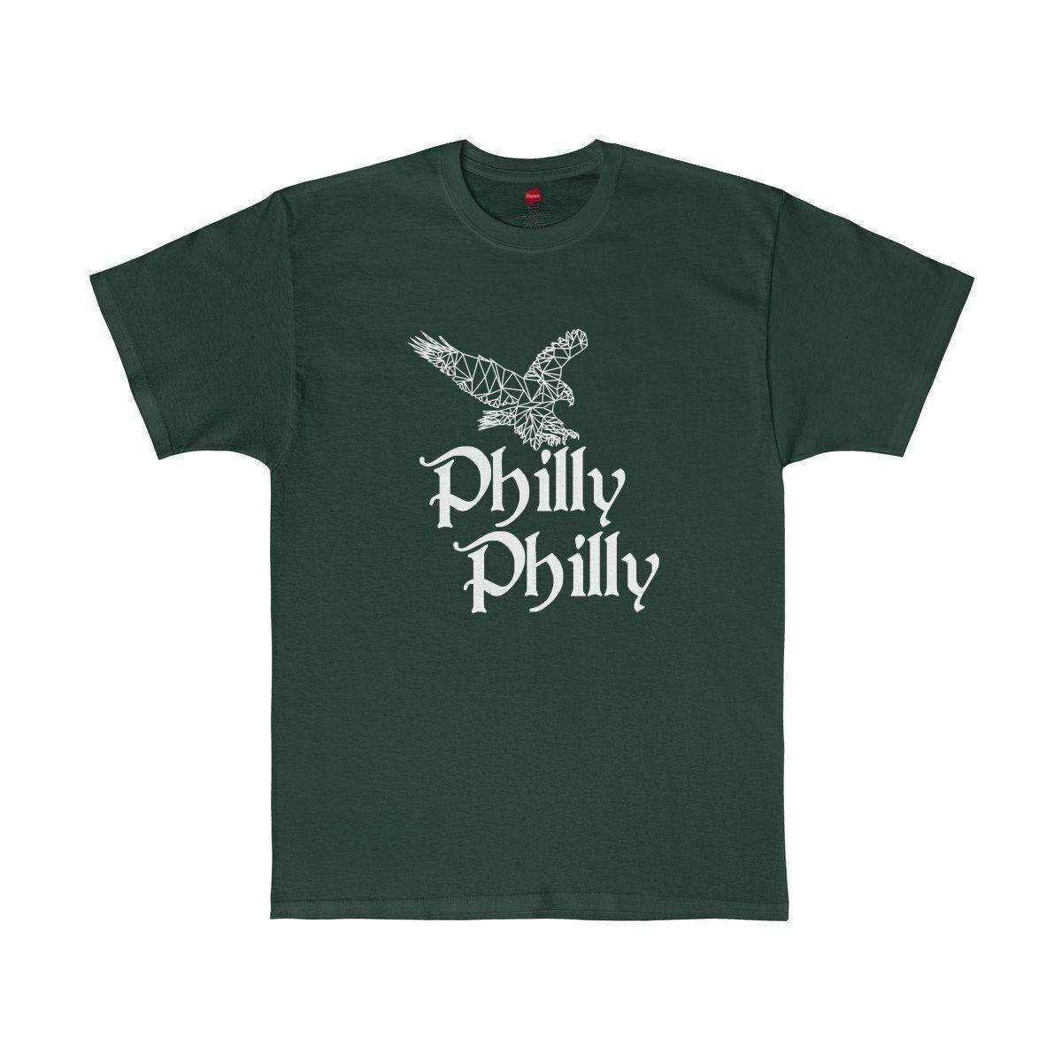 Os fãs de futebol de philly philly da camisa dos homens t de dilly dilly philadelphia com
