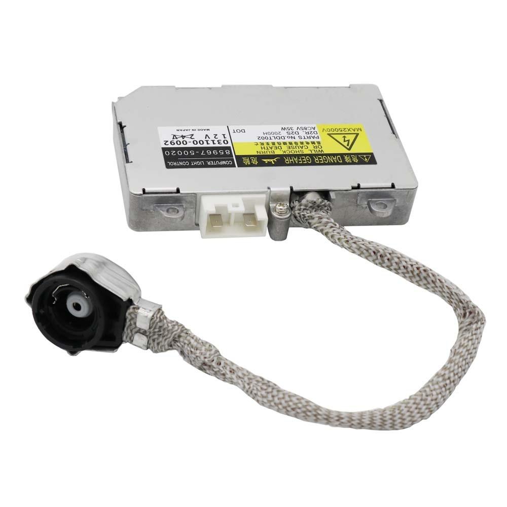 Unidade de controle do reator do farol de xênon koito para subaru legacy outback 85967-50020 84965-ae020 84965-ag000 84965-ag010