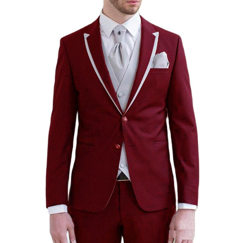 Black Mans Suits For Wedding Custome Made Suits Party Suits Business Suits Dinner Suits Three Pieces Suits(Blazer+Pants) suits