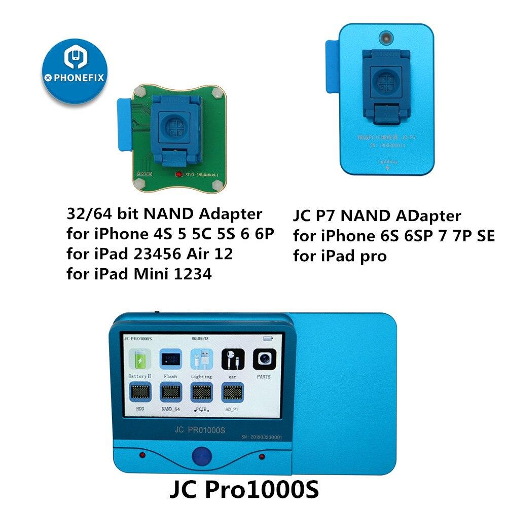 كابل بيانات البطارية وسماعات الرأس JC Pro1000S JC P11 P7 pro, NAND أداة إصلاح الكتابة ، كابل بيانات البطارية ، سماعة اختبار لهاتف iPhone 11 6 7 8 X XR XS