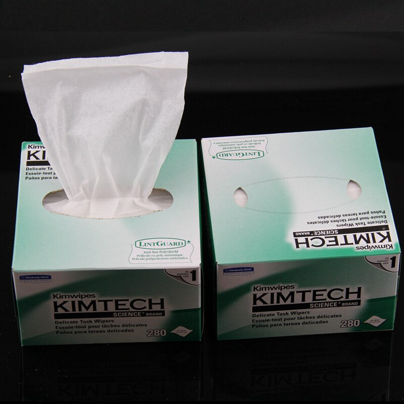 10box Kimwipes Optical fiber clean wipe paper Optical fiber wiping paper,Fiber Optic Connector Lens Cleaning fiber cleaner tools enlarge
