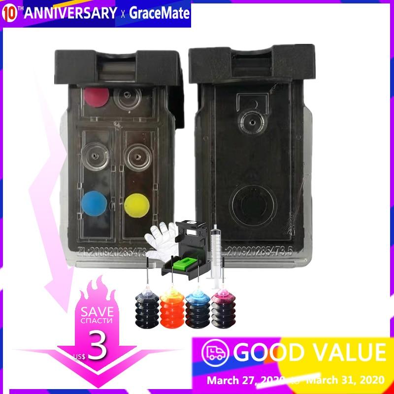PG-40 CL-41 совместимый многоразовый картридж для принтера Canon Pixma MP140 MP150 MP160 MP180 MP190 MP210 MP220 MP450 MP470