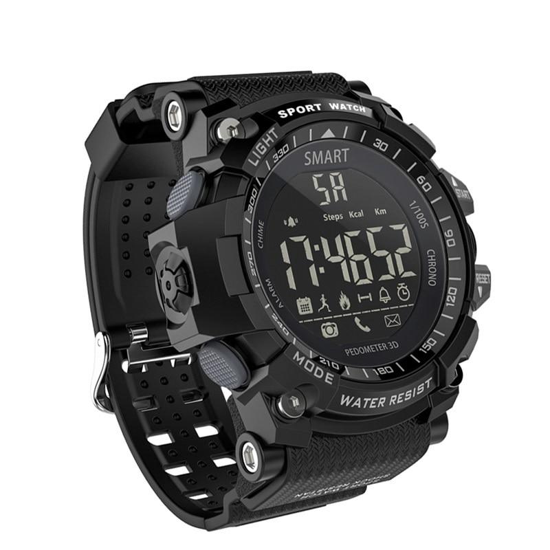 EX16 Smart Watch IP67 Waterproof Bluetooth V4.0 Clock Long Standby Camouflage Outdoor Smartwatch Sports Pedometer Wristband