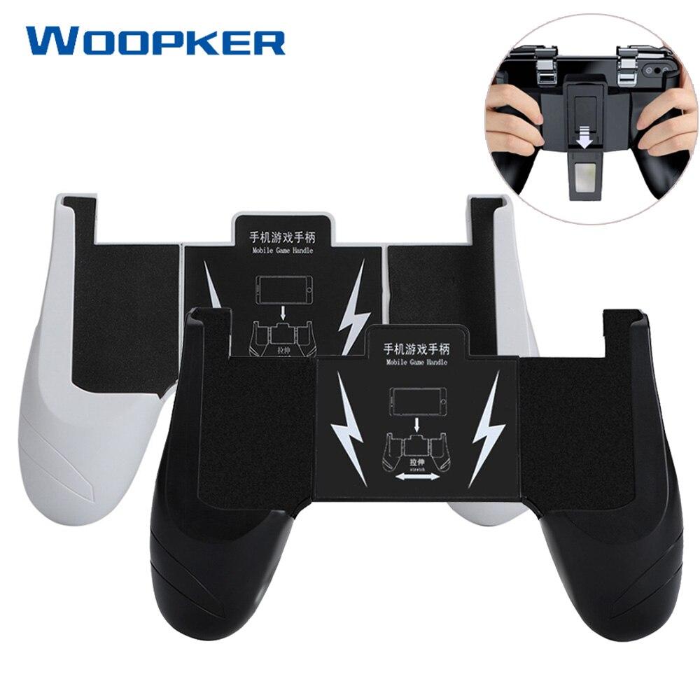 Mando de juegos para teléfono móvil, controlador de Joystick, controlador de mango de juego para iPhone Android, juego de tirador para teléfono