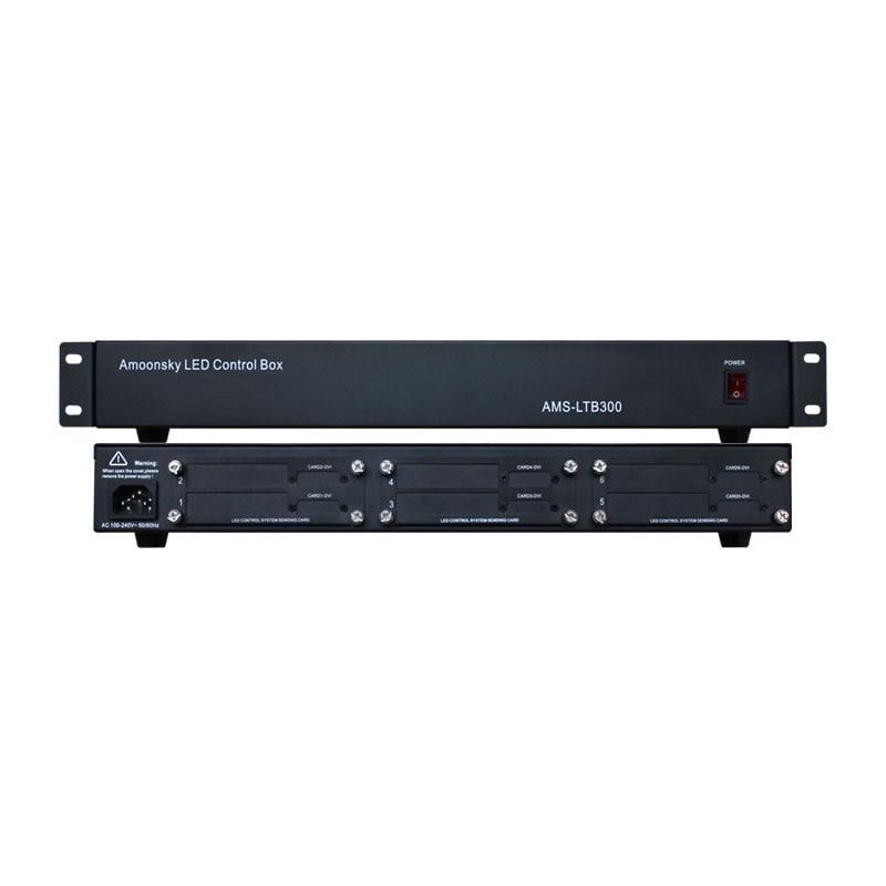 P2 P2.5 P4 P6 P10 P3.91 LED Sender Box Support 6pc Linsn Colorlight Dbstar Nova Led Software sending card LTB300 for led matrix