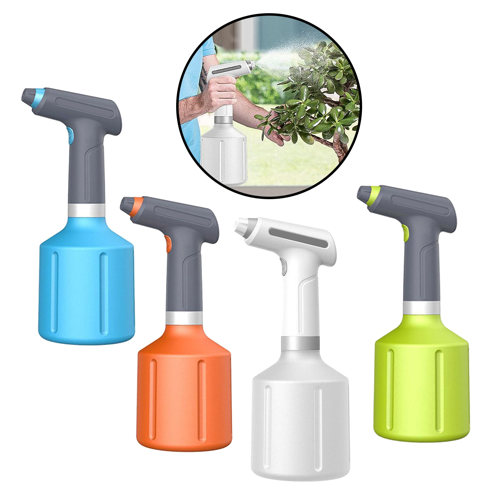 Electric Plant Spray Bottle Automatic Watering Fogger USB Electric Sanitizing Sprayer Hand Watering Machine Plants Garden Tool