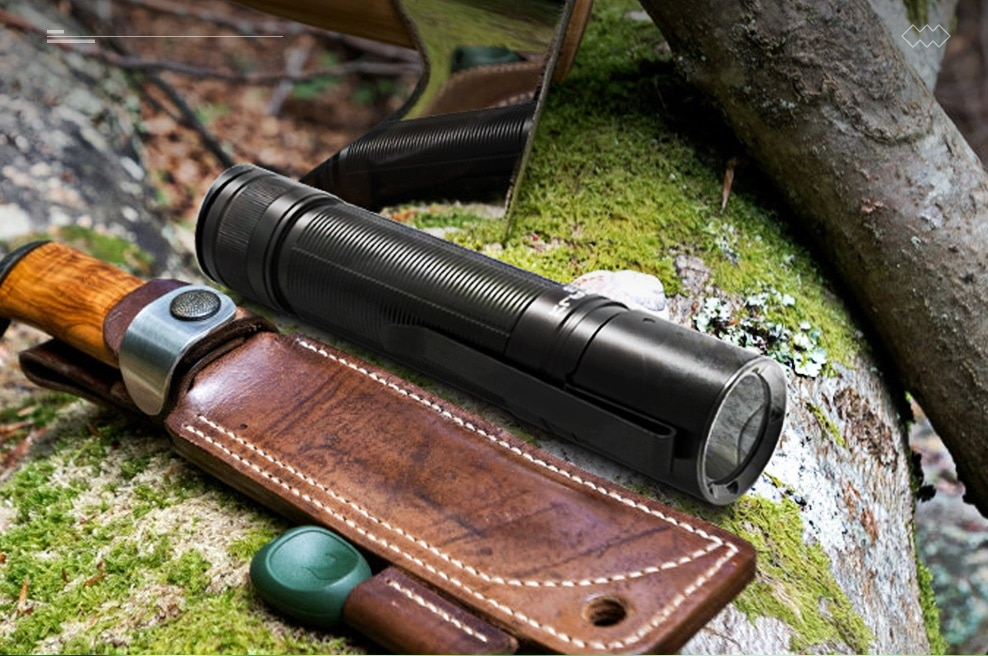 New KLARUS E3 LED Flashlight Cree XHP35 HD 2200LM Mini Flashligh by 21700 Battery for  Camping,Hiking,Daily Use,Everyday Carry enlarge