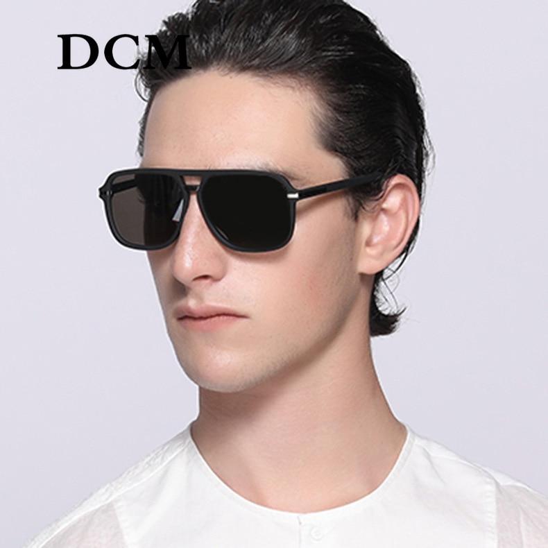 DCM 2020 New Arrive Classic Vintage Retro Pilot Style Sunglasses Men Women Fashion Brand Design Sun