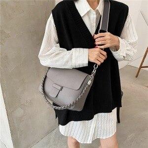 Korean Simple Underarm Bag All-match Handbags 2020 Autumn and Winter New Ladies Small Square Bag Single Shoulder Underarm Bag
