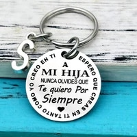 spanish to my son daughter i love you inspirational gift keychain for kids best gift idea for son daughter stocking stuff gifts