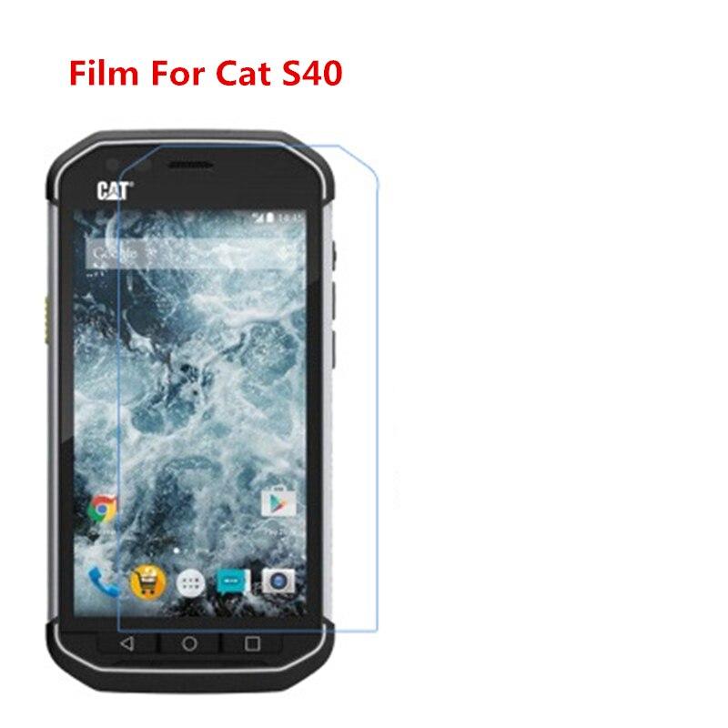 1/2/5/10 Uds. Película protectora de pantalla LCD Ultra delgada HD con película de paño de limpieza para Cat S40.
