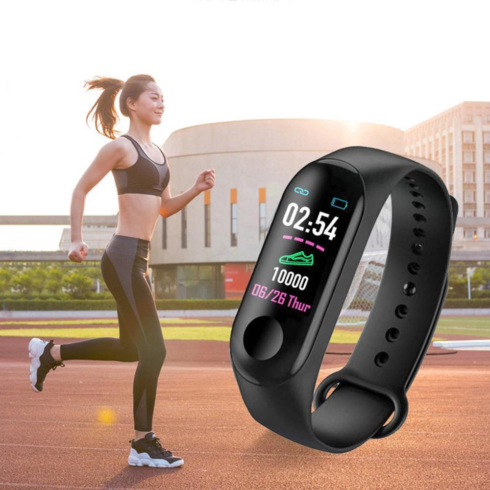 M3 Plus Smarthwatch Wristband Smart band Fitness Tracker Smart Band Heart Rate Activity Bracelet Sport Smart Watch Band