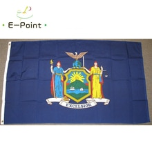 USA New York State Flag 2ft*3ft (60*90cm) 3ft*5ft (90*150cm) Size Christmas Decorations for Home Fla