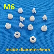 Rondelle en plastique t-type M6 nylon fixation vis joint transistor protecteur boulon filetage bush tampon disolation
