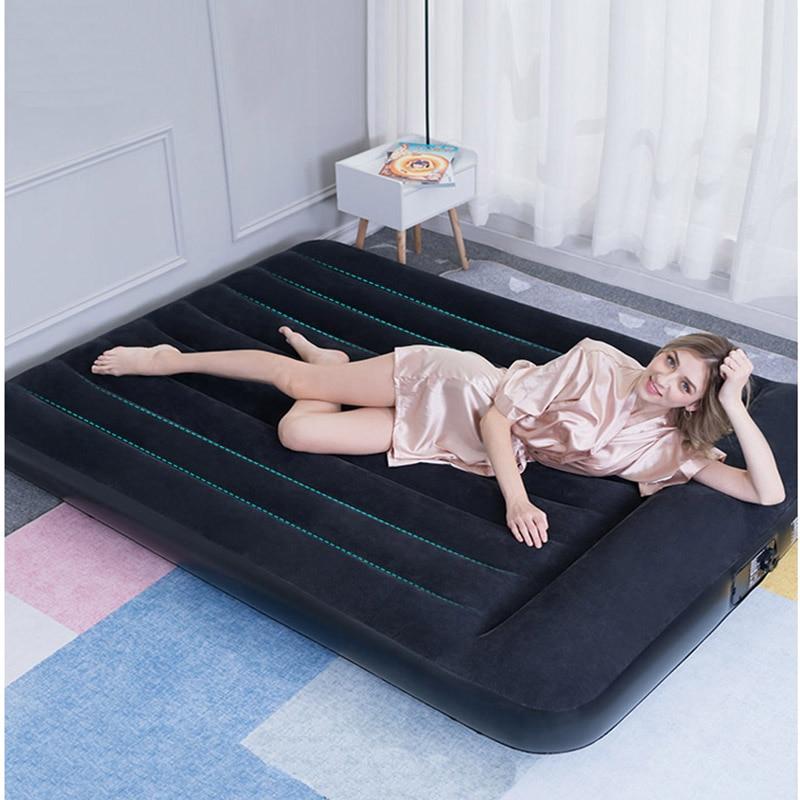 Bestway 67462-64 188*99/191*137/203*152*30cm um/pessoa dobro do escritório doméstico using acampamento colchão inflável da cama de ar