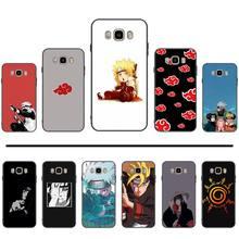 Naruto Kakashi Sasuke japon Anime coque de téléphone pour Samsung Galaxy J2 J4 J5 J6 J7 J8 2016 2017 2018 Prime Pro plus Neo duo