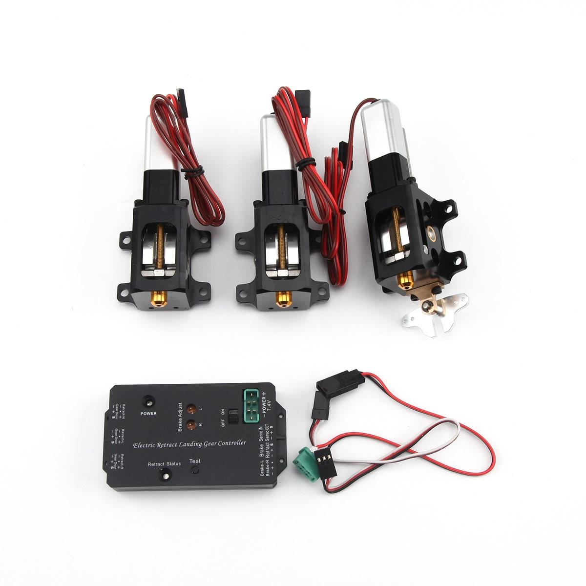 3 قطعة/مجموعة CYS-R2090 90 درجة الكهربائية الدورية التراجع الهبوط لمدة 6.0 ~ 12 كجم RC دوامة/طائرة نفاثة