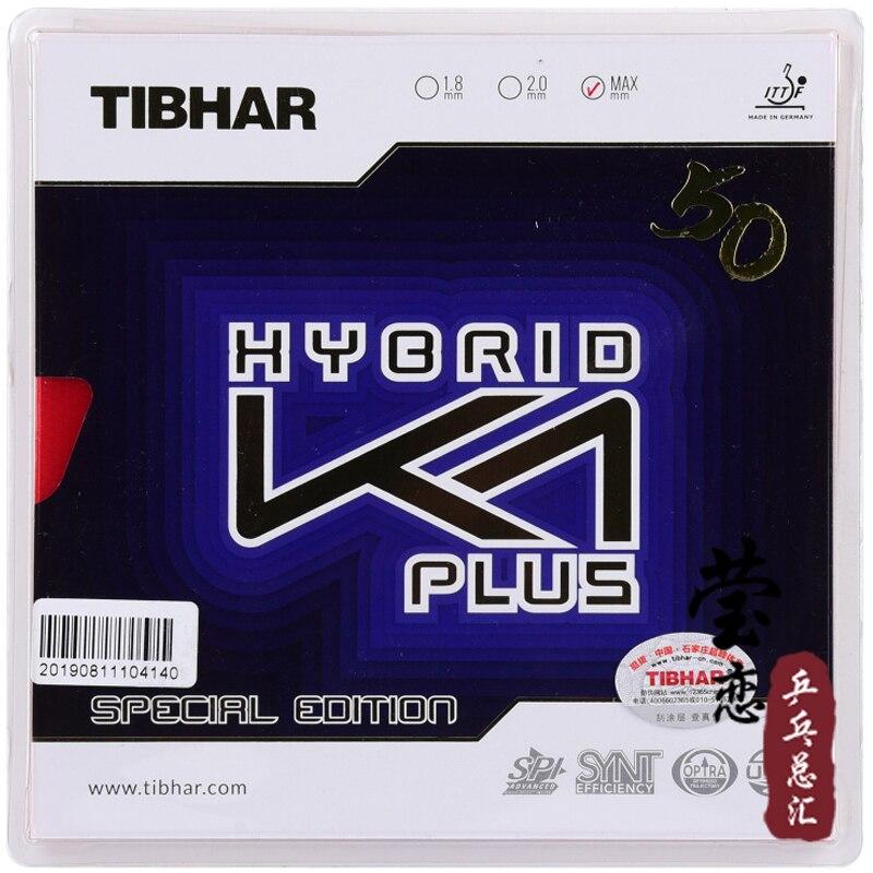 Tibhar original híbrido K1 plus edición especial de goma de ping-pong goma adhesiva ataque rápido con bucle para juego de ping pong