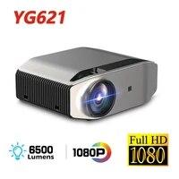 Projecteur 3D Full HD YG620  1920x1080P  multi-ecran  VGA  WiFi  USB  4K  pour Home cinema