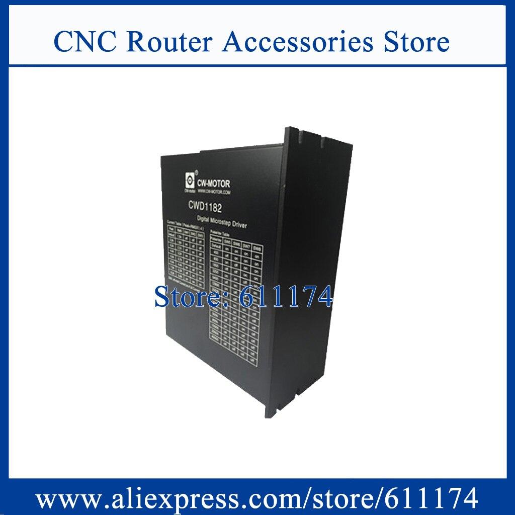 CWD1182 Controlador de paso Digital 8.2A 32bit DSP 2 fases controlador de motor paso a paso 80-180VAC