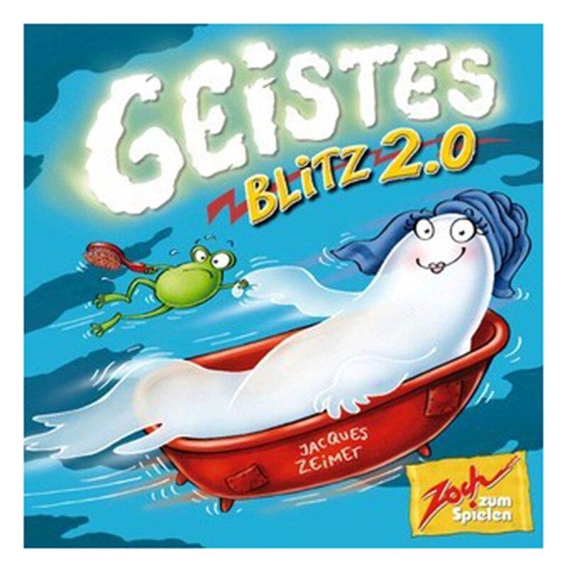 Geites 2 настольная игра 2-8 игроков Семья/вечерние лучший подарок для детей английские инструкции карты игра Reaction Blitz игра