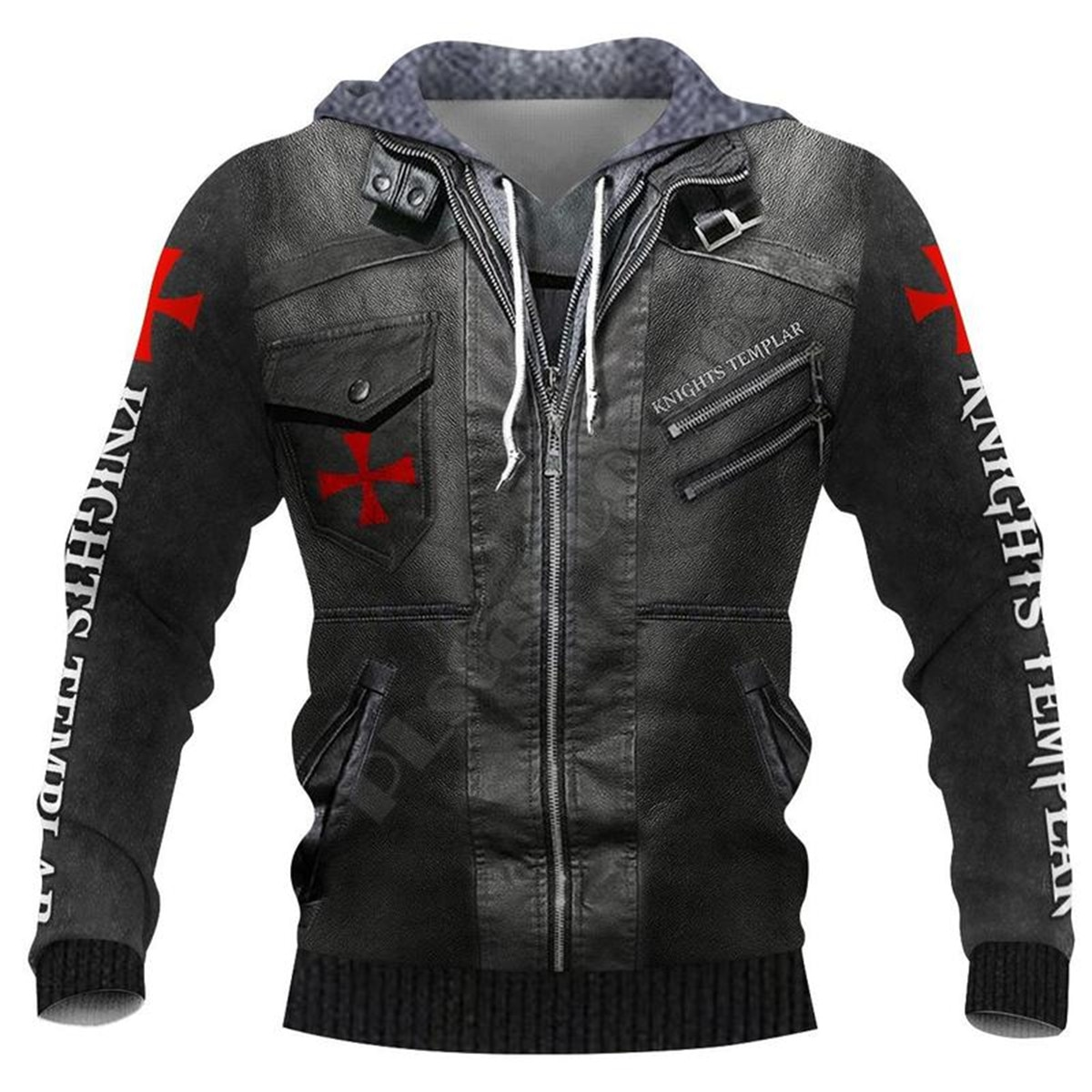 Knight Templar Armor 3D All Over Printed Hoodies Fashion Pullover Men For Women Sweatshirts Sweater Cosplay Costumes 12
