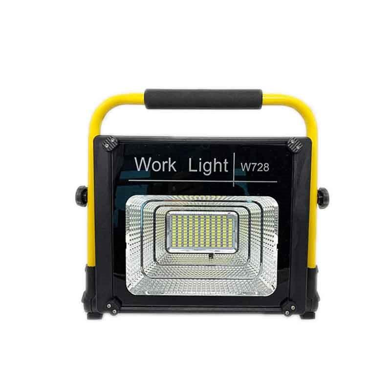 XANES W728 120W LED luz de trabajo impermeable paisaje lámpara de punto USB recargable 2 modos de iluminación de acento al aire libre Control remoto