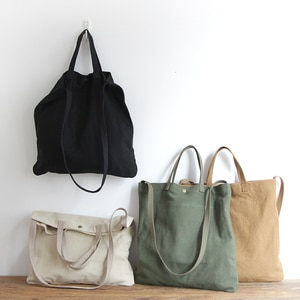 LUYO Large Capacity Canvas Simple Art Shoulder Bags Women Vintage Large Canvas Handbag Female Ladies Handbags Pochette Femme