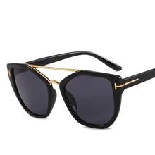 새로운 선글라스 레트로 2019 고양이 눈 선글라스 여성 타원형 레이디 우아한 태양 안경 여성 운전 안경 lunette soleil femme