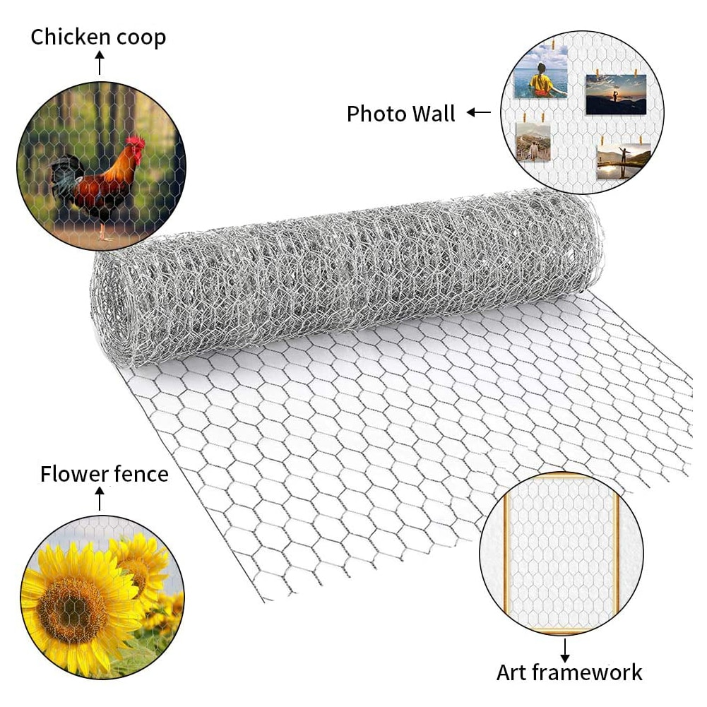 AliExpress - 3PCS Wire Mesh Hexagonal With Compact Holes Metal Household Chicken Wire For Home Plants Farm Hexagonal Wire Fence Wholesale