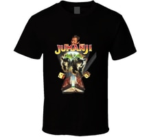 Jumanji Robin Williams Retro pelicula de aventura camiseta de alta calidad camiseta