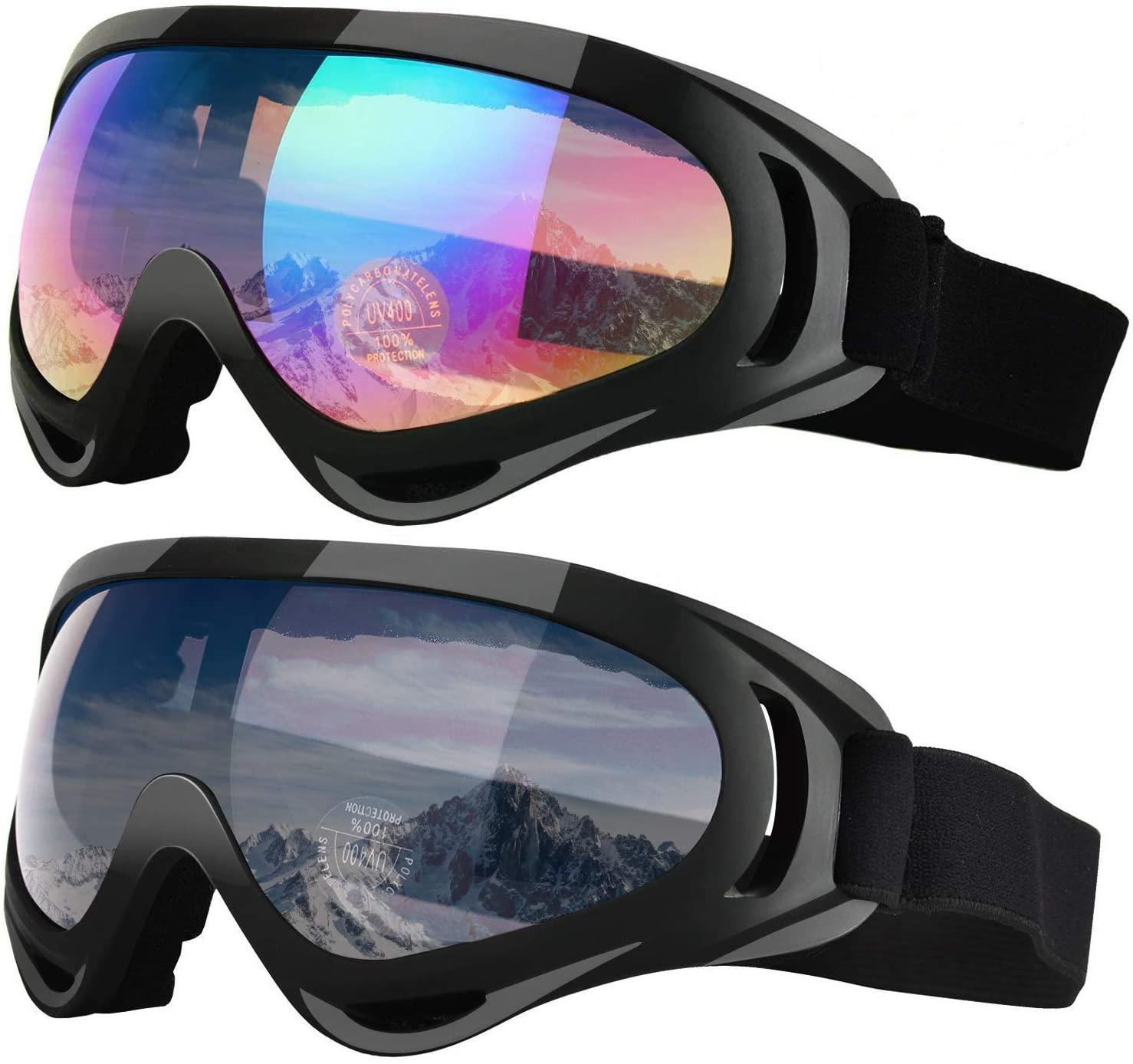 UV400 Pro лыжные очки новые зимние лыжные очки снежные сноуборд солнцезащитные очки ветрозащитные снегоходы лыжные очки для мужчин и женщин