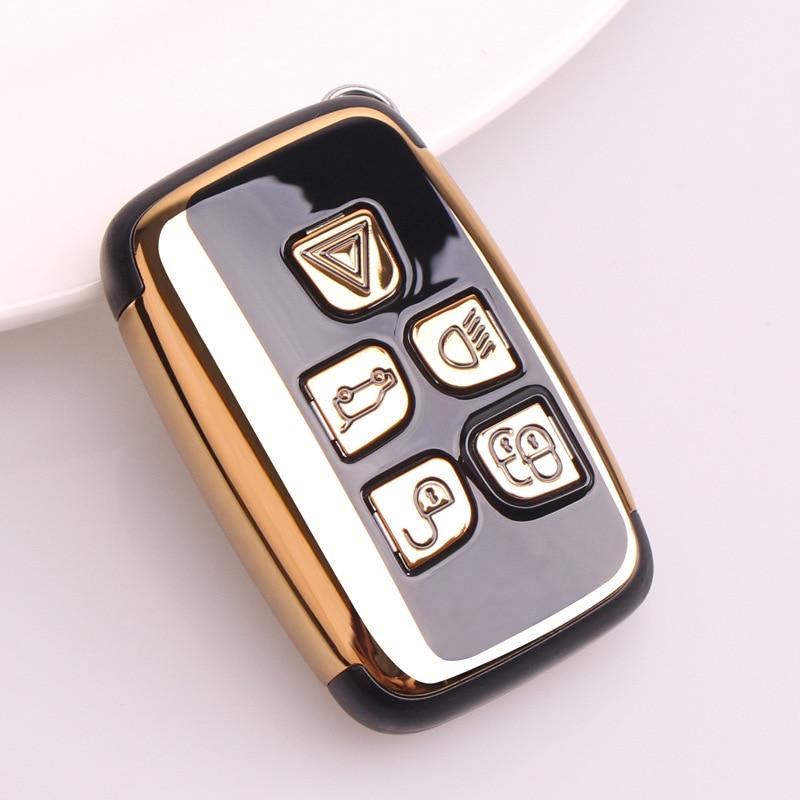 Abs conjunto de capa chave do carro para land rover range rover sport evoque freelander2 para jaguar xf xj xjl xe C-X16