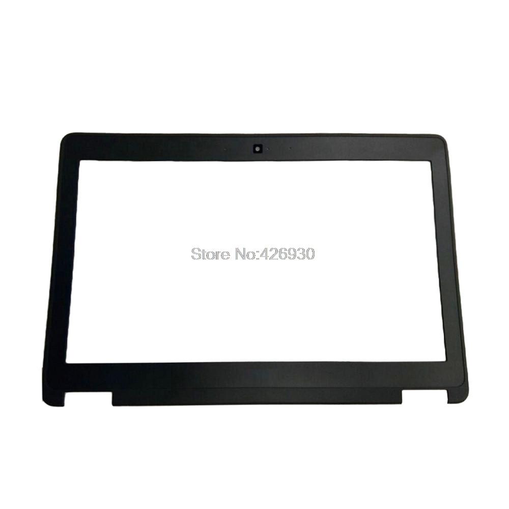 Laptop LCD Front Bezel For DELL For Latitude E7250 7250 P22S black 0V5Y98 V5Y98 new